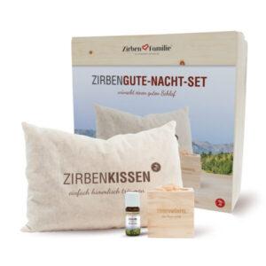 Zirben Kombipack – Gute Nacht Set